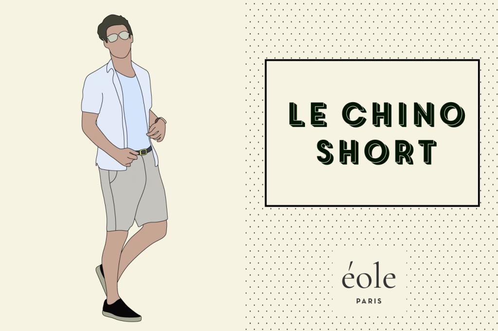Le short chino - ÉOLE PARIS