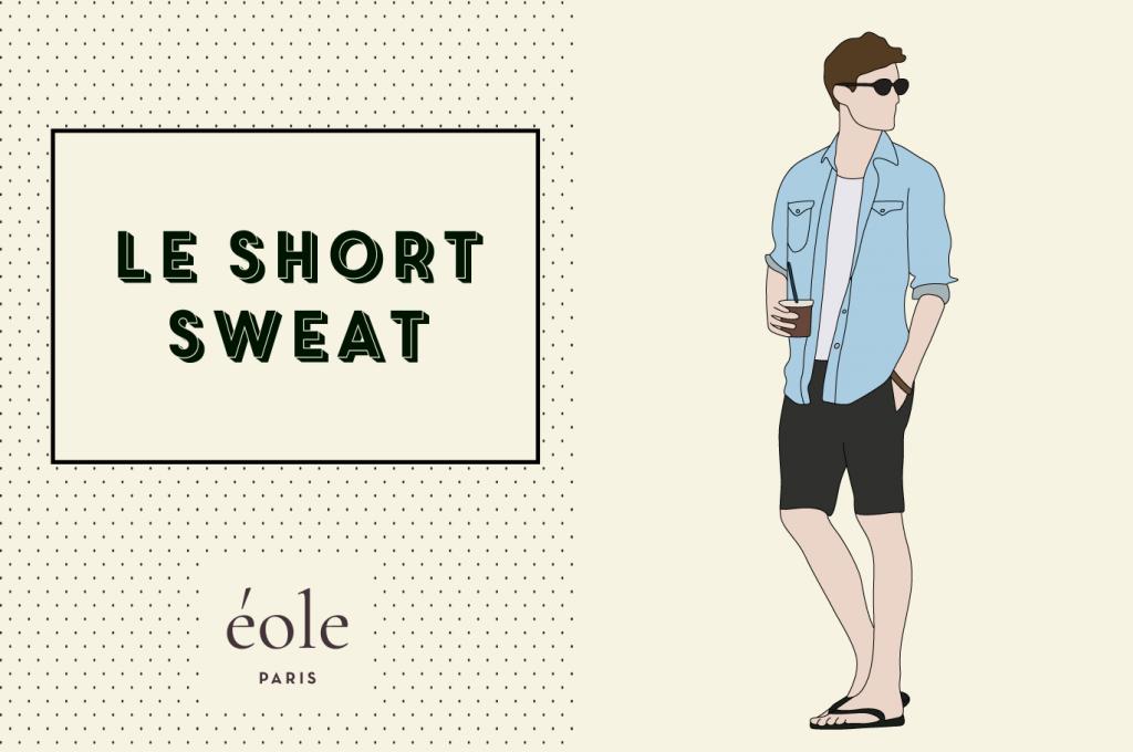 Le short sweat - ÉOLE PARIS