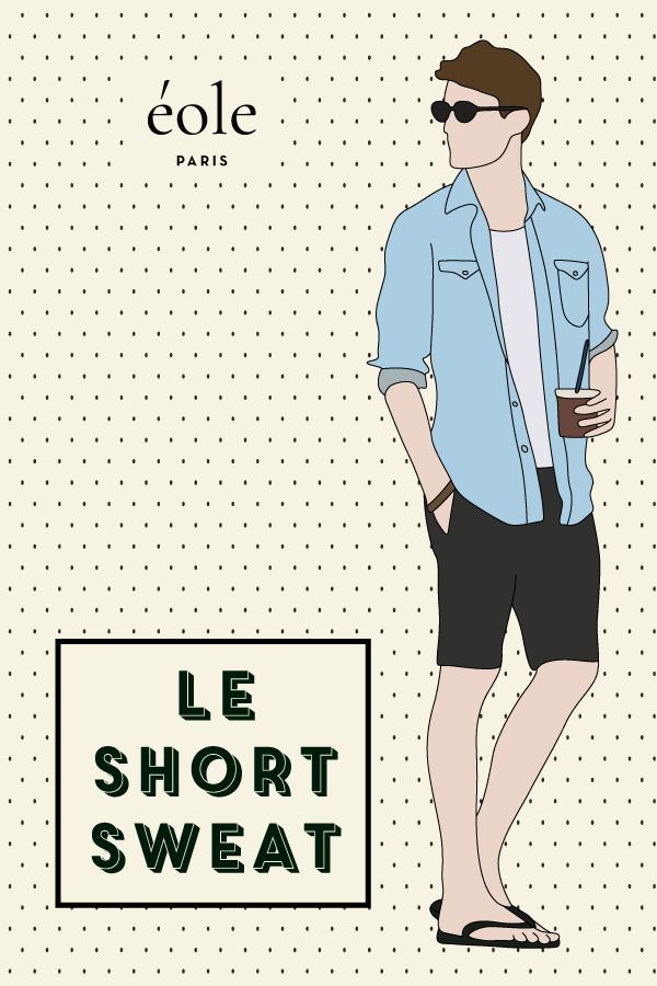 Le short sweat - EOLE PARIS