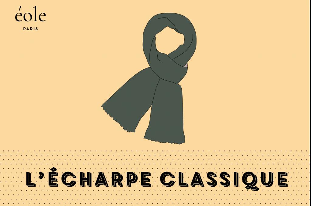 L'écharpe classique - EOLE PARIS