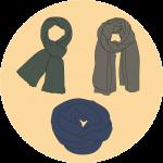 Les modeles d'écharpes - EOLE PARIS