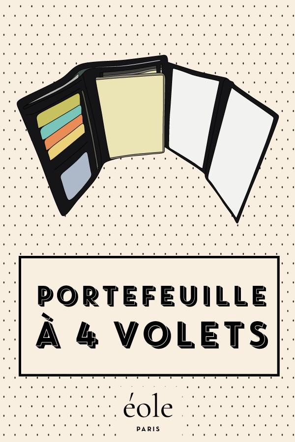 Portefeuille à 4 volets - EOLE PARIS