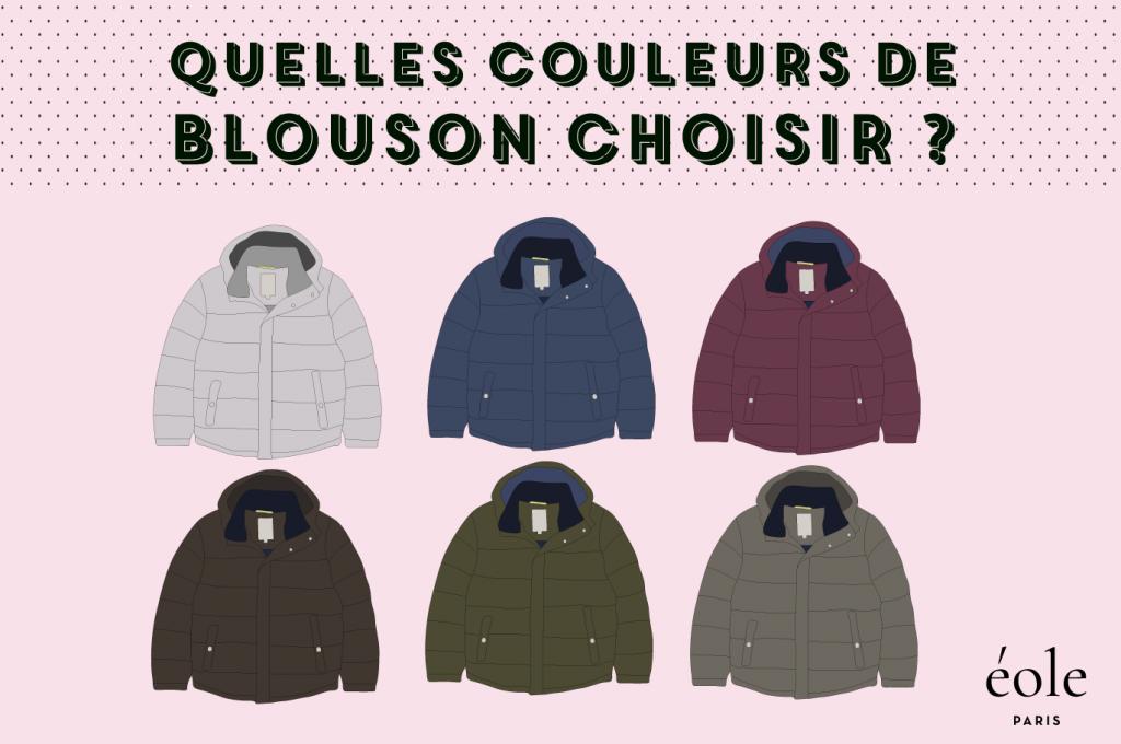 Quelles couleurs de blousons choisir ? EOLE PARIS