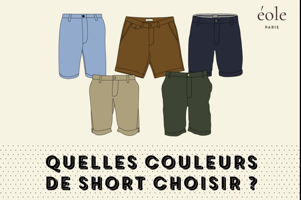 Quelles couleurs de short ? ÉOLE PARIS
