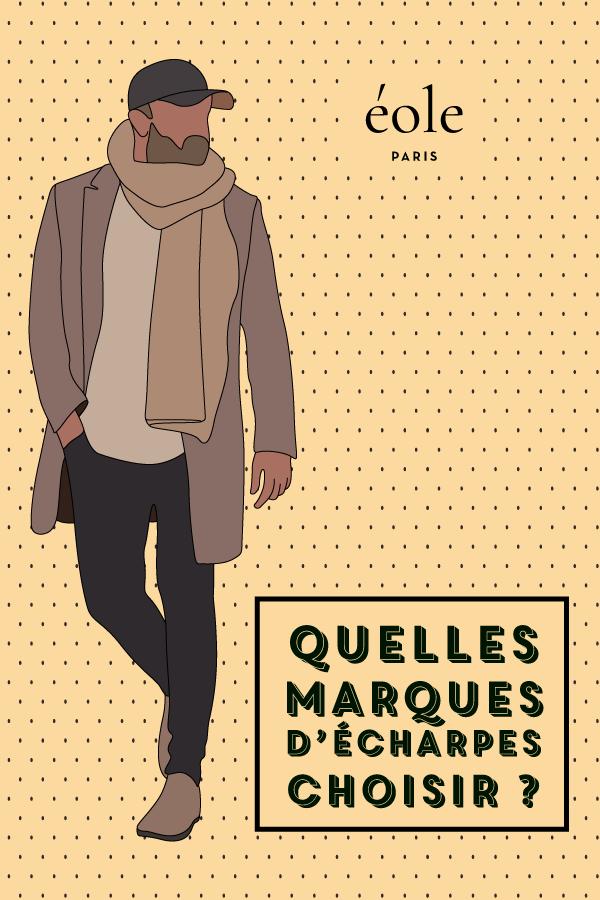 Quelles marques d'écharpes choisir ? EOLE PARIS