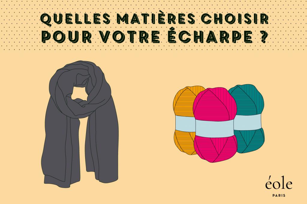 Quelles matières d'écharpes choisir ? EOLE PARIS