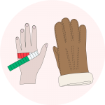 Les tailles de gants - EOLE PARIS
