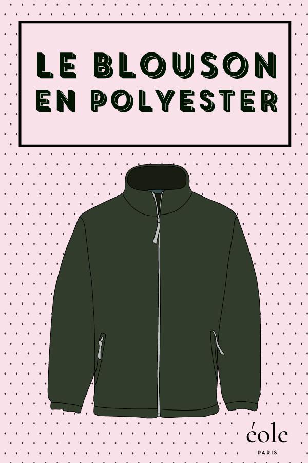 le blouson en polyester - EOLE PARIS