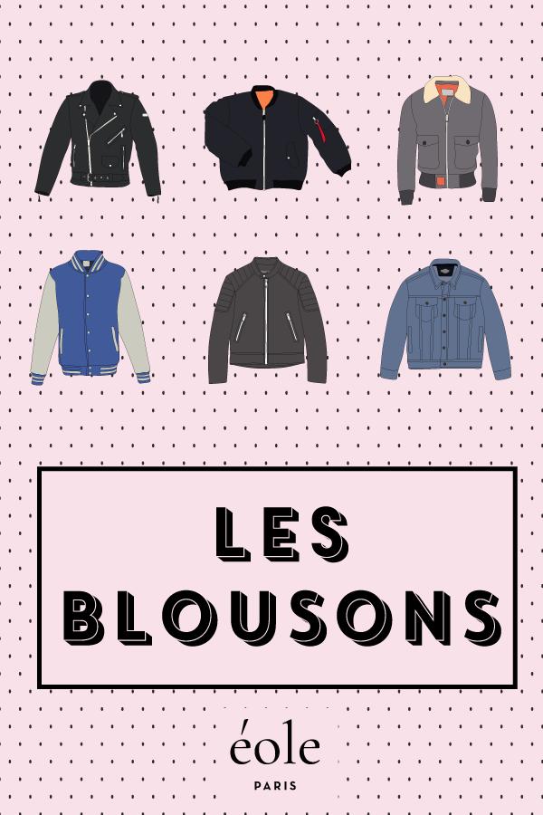 Les blousons - EOLE PARIS