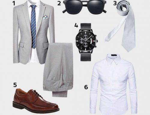 Look Business | Mi-Saison | Chemise Business, Lunettes Polarisées, Chaussures Derbies…