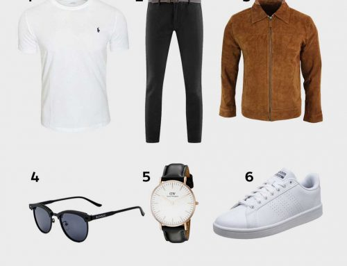 Look Casual Chic | Mi-Saison | Veste En Cuir Caramel, Adidas Baskets Basses, Montre Daniel Wellington…