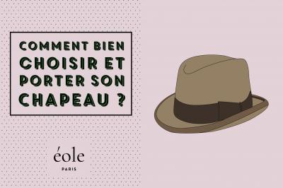 Comment bien choisir et porter son chapeau -EOLE PARIS