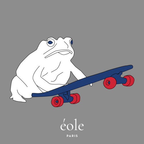 Frog Skate Grey