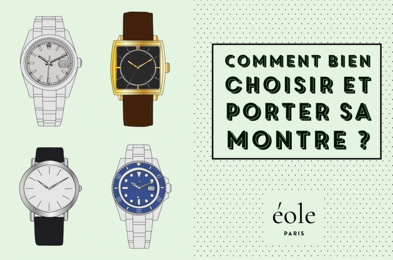 Comment bien choisir et porter sa montre ? EOLE PARIS