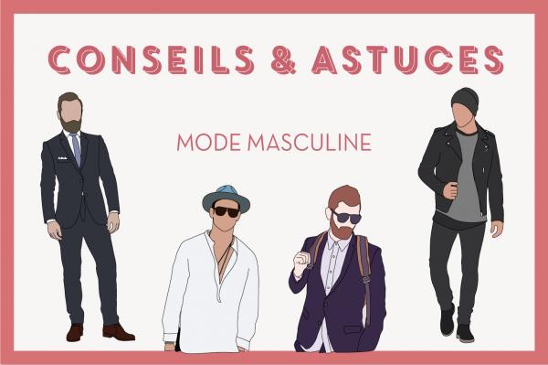 Conseils et astuces mode masculine - EOLE PARIS