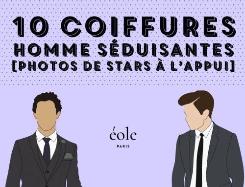 10 Coiffures Homme Séduisantes [ Photos De Stars À L'Appui ]