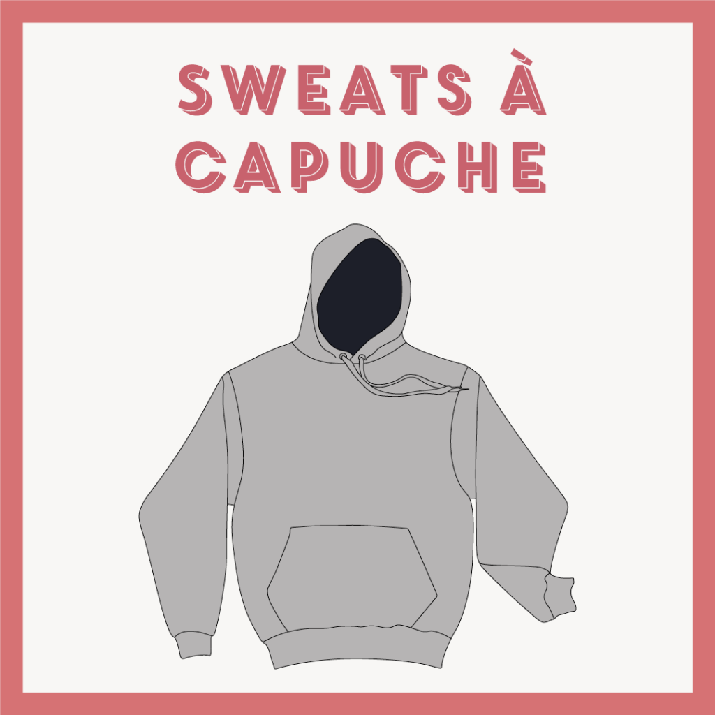 categorie sweats à capuche